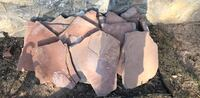 Large red flagstones for yard or landscaping El Paso, 79936