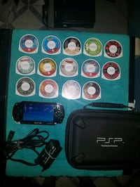 Sony Playstation Portable with 25 PSP Video Games