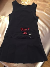 Navy blue dress size 7!