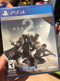 Destiny 2 video game in plastic