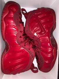 Red October's foamposite size 10 RARE! Riverview, 33578