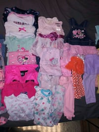 Girls Newborn, 0-3 mos, 3-6 mos clothing