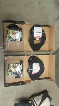 2 New Leatt neck brace size small/medium.   Edmonton, T5Y 0C3