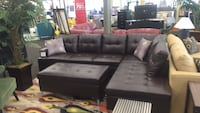 Brown Sectional w/ Ottoman (New)  Norfolk, 23502