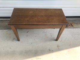 Vintage Piano stool/bench