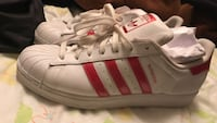 Size 11womans red addidas