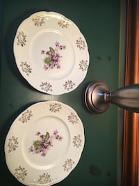 Plates (2), Made in England, looking to find set Alexandria, 22301