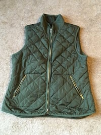 Old Navy - Vest - Pockets - Zip Up - Puffer Vest - Fall Jacket - Women's Large Montoursville, 17754