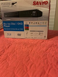 Blue ray disc DVD player
