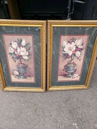 2 pc flower wall art 24 x 36 Minneapolis, 55428