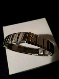 silver and black bracelet with box Vaughan, L4J 4P8
