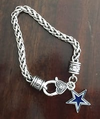 Dallas Cowboys Charm Bracelet Farmers Branch, 75244