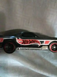 black and red Hot Wheels hot rod coupe scale model Albuquerque, 87123