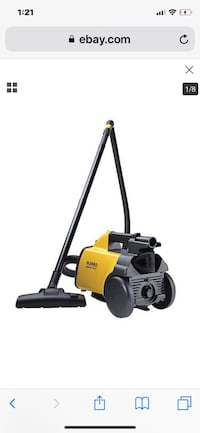 yellow and black Ridgid wet and dry vacuum cleaner Windermere, 34786