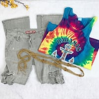 3 Piece HIPPIE COSTUME - Homemade Size Small San Leandro, 94578
