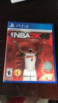NBA 2K14 PS4 game case Sterling, 20165