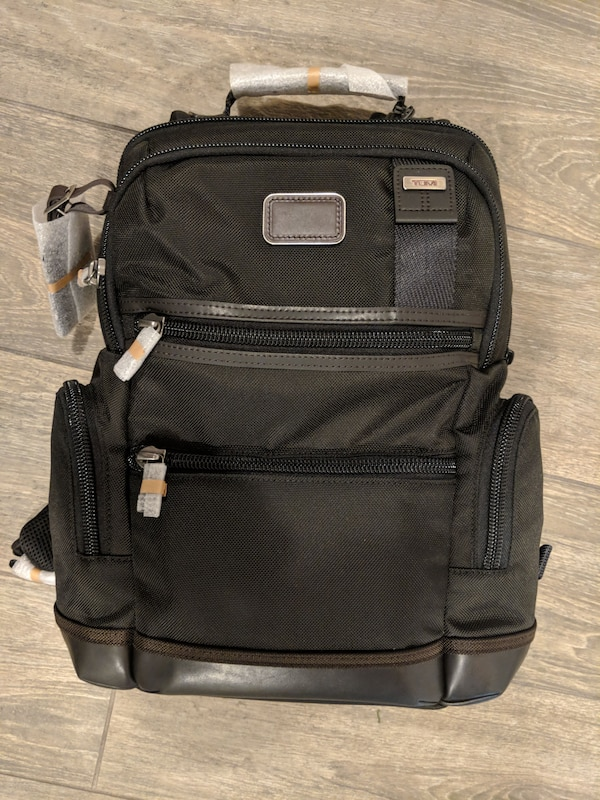 03e1870d2 Used Tumi Alpha Bravo Knox Backpack -Hickory for sale in Miami - letgo