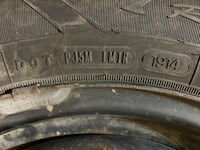 Goodyear 16 inch winter tires lots of tread
