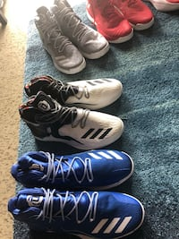 Sneakers US Size 17 - D Rose (5 pairs) Hamilton, L8N 1B9