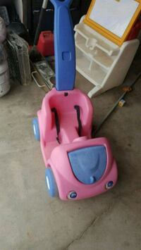 toddler's pink and blue ride on toy Hesperia, 92345