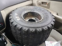 black and gray four  wheel Good rims and tires   Queens, 11369
