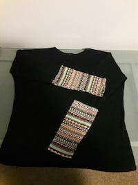 Beautiful lady's size M top