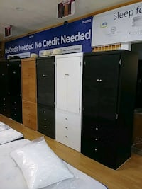 white and black wooden cabinets Long Beach, 90805