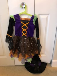 Toddler girl Witch costume Size 3T Washington, 20001