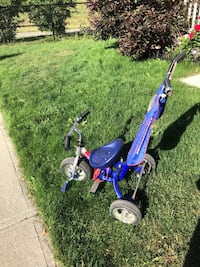 toddler's blue and white trike Milton, L9T 2R1