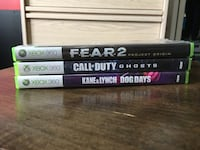four Xbox 360 game cases London, N6G 0G9