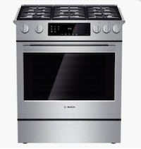 Bosch gas stove Stainless Steel