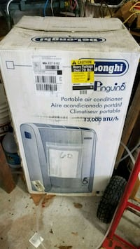 Brand new DeLong hi 13000 btu portable ac Somerset, 02726