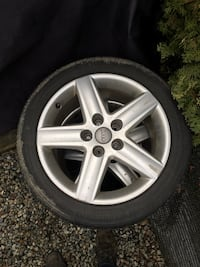 4x Audi Wheels and tires  Surrey, V4N