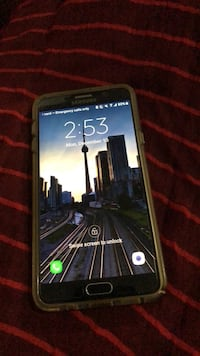 black Samsung Galaxy Android smartphone 552 km