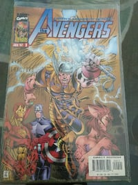 Avengers Marvel comic book