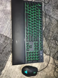 Razor gaming keyboard & gaming mouse deal  Newmarket