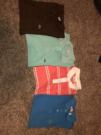 assorted-color polo shirts Belton, 64012