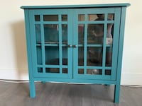 Blue cabinet two shelves beautiful colour  Toronto, M2K
