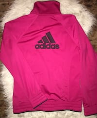 Women's size medium Adidas pink track jacket great condition Puyallup, 98375