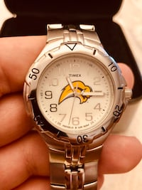 MINT CONDITION LIMITED EDITION BUFFALO SABRES TIMEX WATCH 559 km