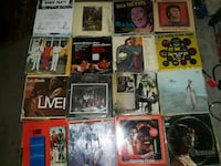 Assorted vinyl records about 70  2176 mi