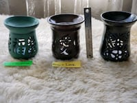 Handmade Pottery Tart Warmers by Eiko's Pottery  Dale City, 22193