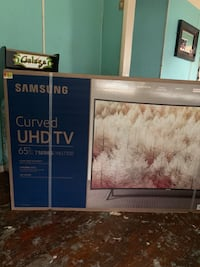 "Samsung UHD curved tv 65"" Houston, 77020"