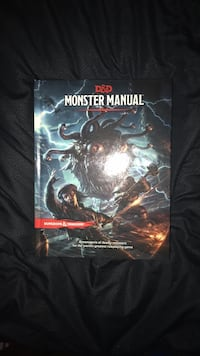 Book - D&D Monster Manual - New Campbell, 95008