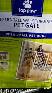Extra tall walk thru pet gate Monrovia, 21770