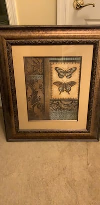 Brown  framed wall decor large Edgewater, 21037