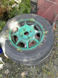 honda civic 13 inch wheels and tires 4x100  Vernon, V1T 4G6