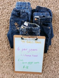 4T GIRLS JEANS Langdon, T0J 1X0