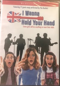I WANNA HOLD YOUR HAND DVD NEW! Herndon, 20170