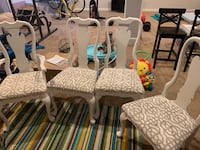 4 dining room chairs.  Upper Marlboro, 20774